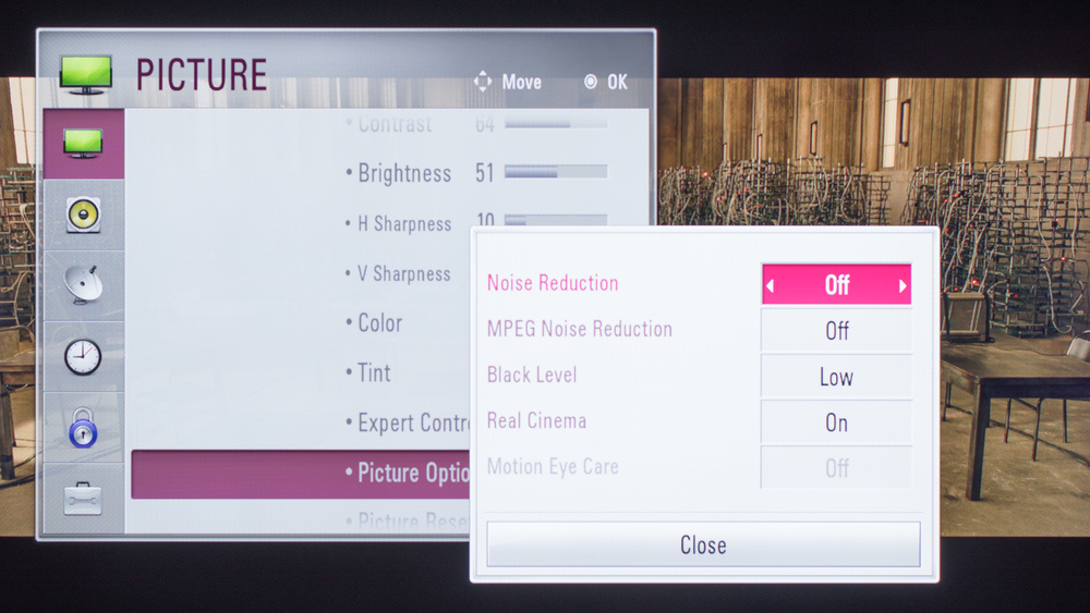 LG LF6000 Calibration Settings 3