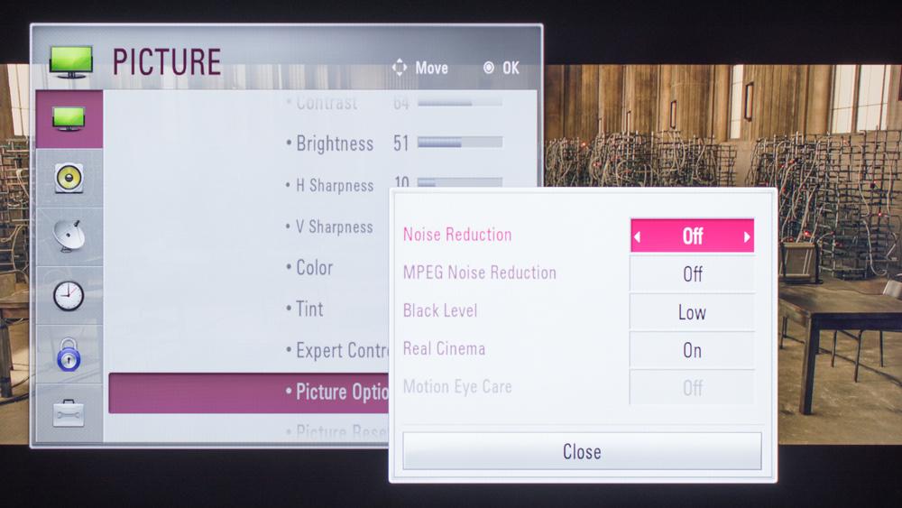 LG LF6000 Calibration Settings 3