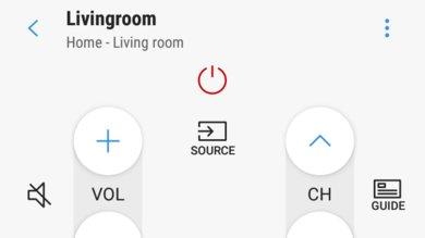 Samsung RU7100 Remote App Picture