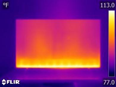 Samsung RU7100 Temperature picture
