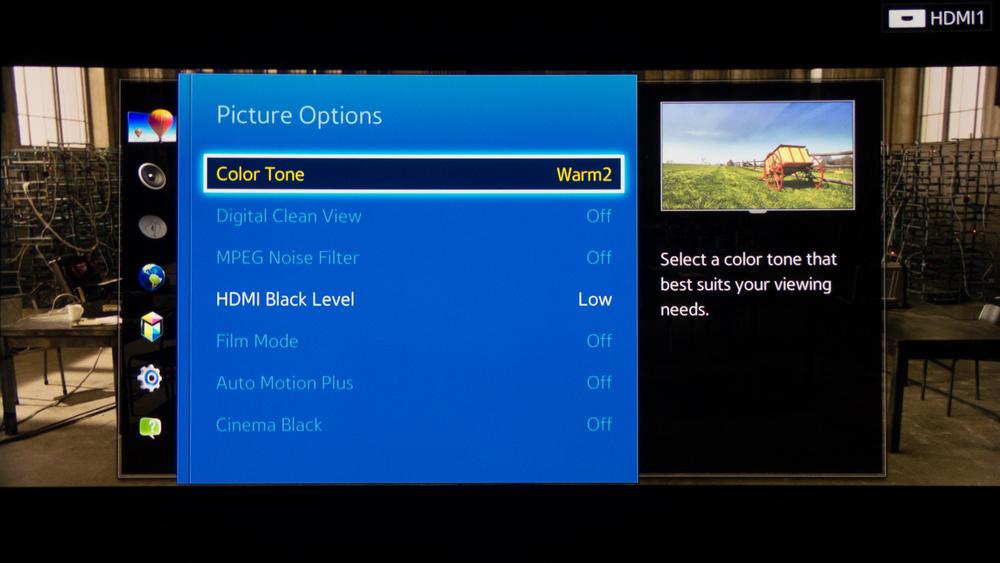 Samsung H8000 Calibration Settings 6