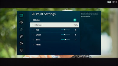 Samsung Q60/Q60T QLED Calibration Settings 34