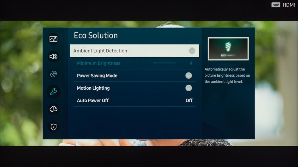 Samsung Q60T QLED Calibration Settings 65