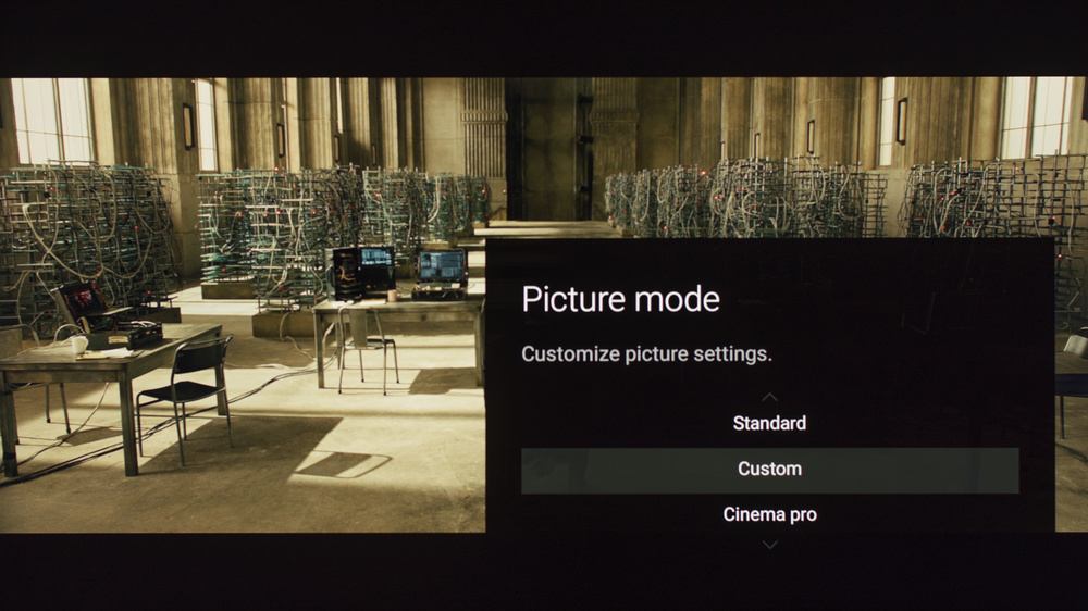 Sony X850E Calibration Settings 1
