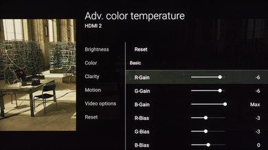 Sony X850E Calibration Settings 11