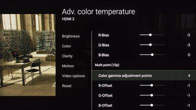 Sony X850E Calibration Settings 15
