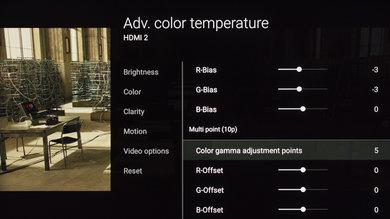 Sony X850E Calibration Settings 16