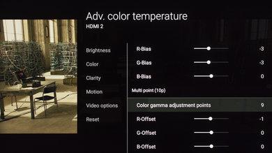 Sony X850E Calibration Settings 20
