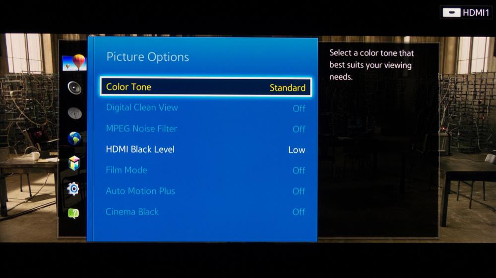 Samsung H7150 Calibration Settings 5