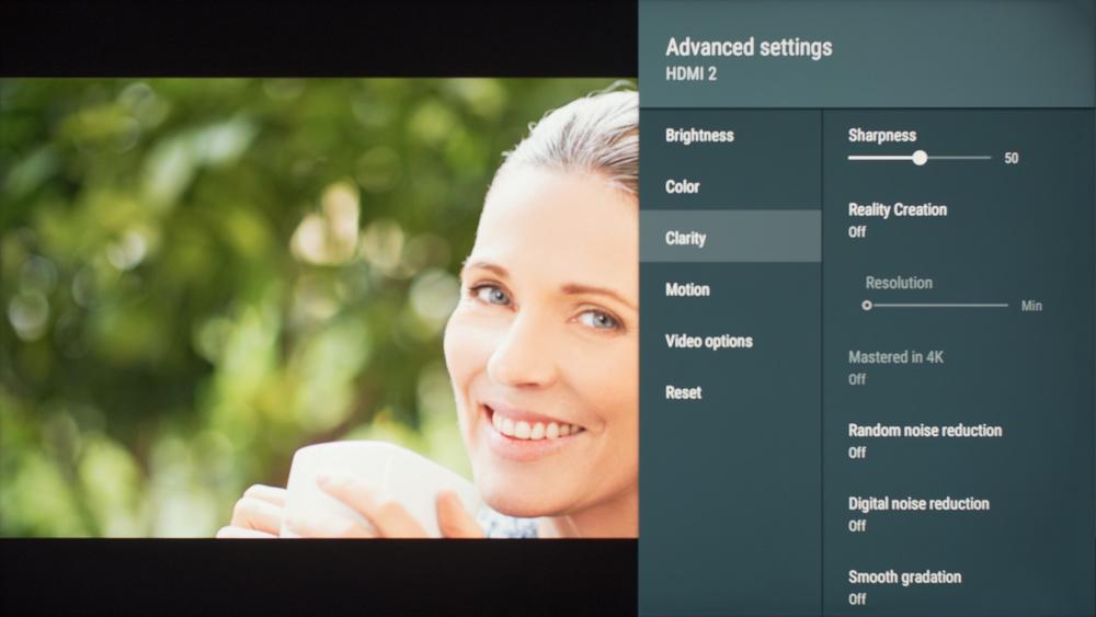 Sony X900F Calibration Settings 21