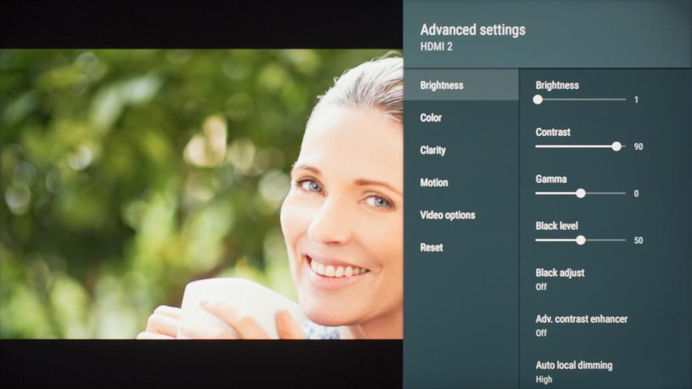 Sony X900F Calibration Settings 5