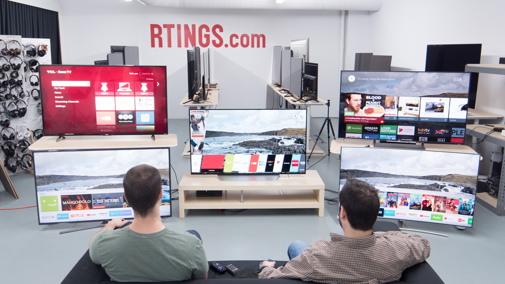 Best Smart Tvs 2019 The 7 Best Smart TVs For Streaming   Summer 2019: Reviews   RTINGS.com