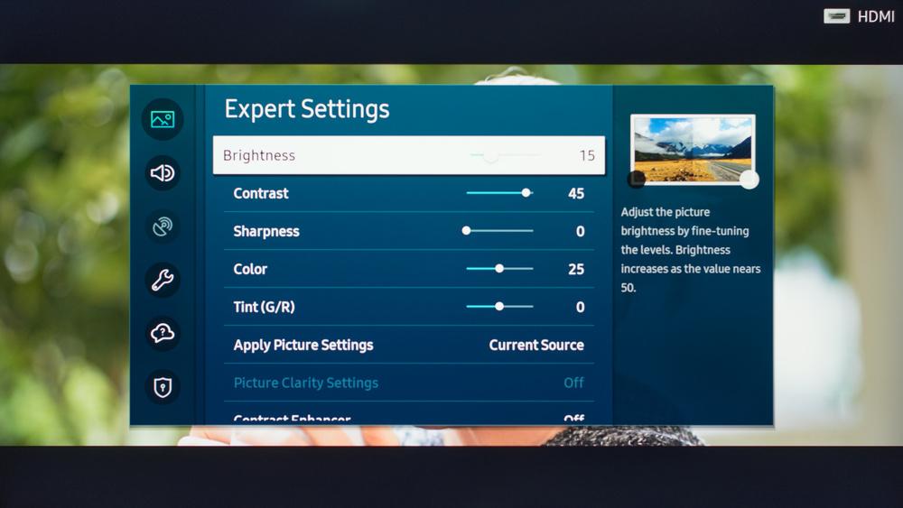 Samsung The Sero Calibration Settings 15