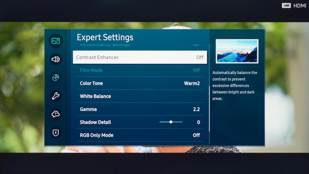 Samsung The Sero Calibration Settings 16