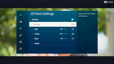Samsung The Sero Calibration Settings 29