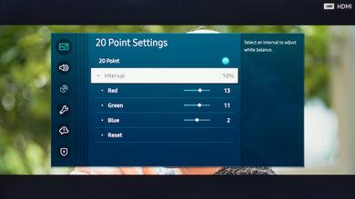 Samsung The Sero Calibration Settings 38