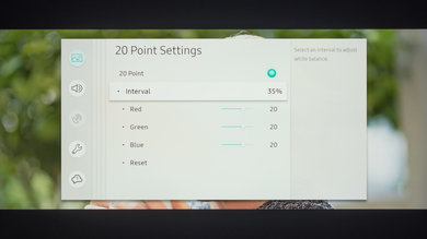Samsung Q80/Q80R QLED Calibration Settings 32