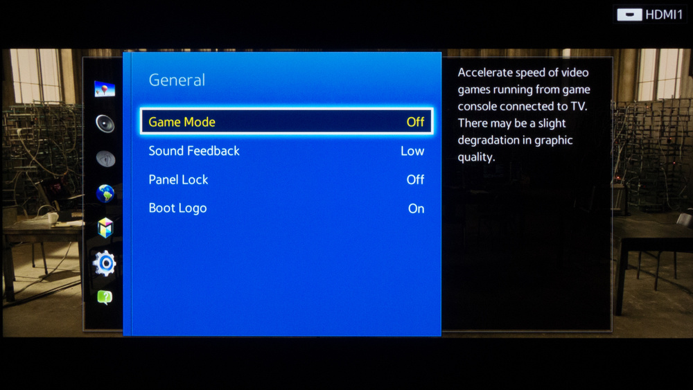 Samsung H5500 Calibration Settings 1