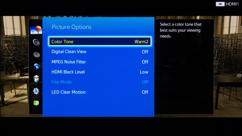 Samsung H5500 Calibration Settings 3