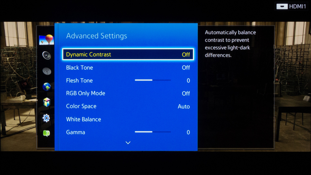 Samsung H5500 Calibration Settings 4