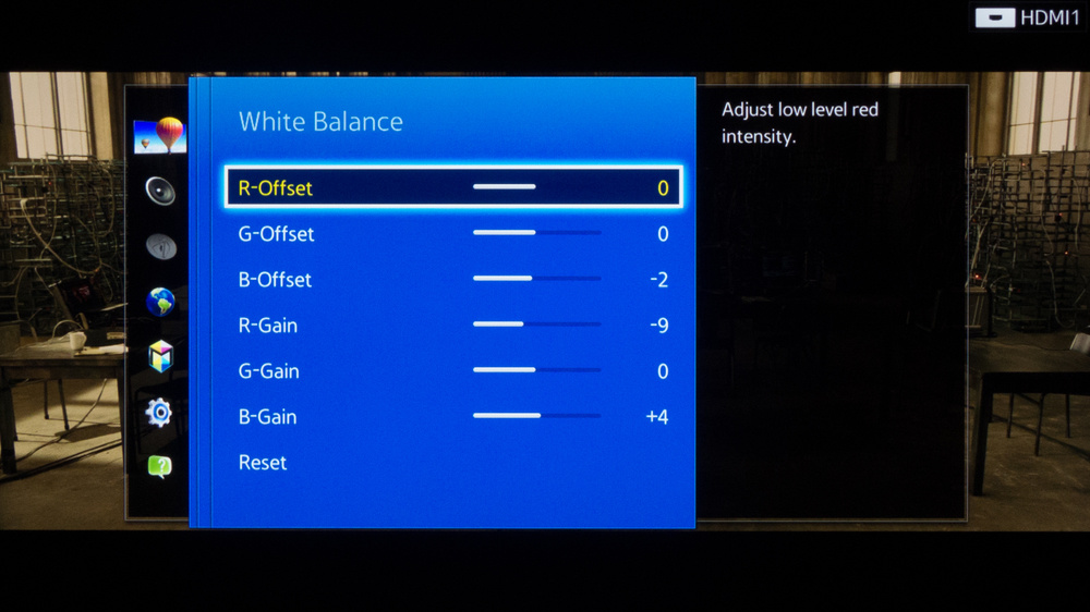 Samsung H5500 Calibration Settings 5