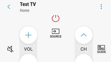 Samsung NU7300 Remote App Picture