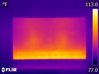 Samsung NU7300 Temperature picture