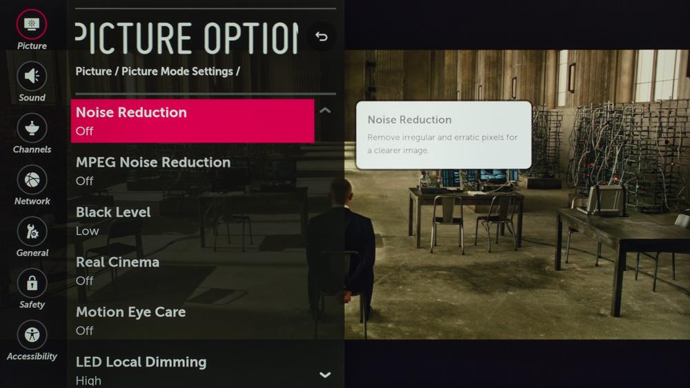 LG UJ7700 Calibration Settings 37