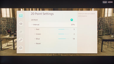 Samsung Q7F/Q7 QLED 2017 Calibration Settings 10