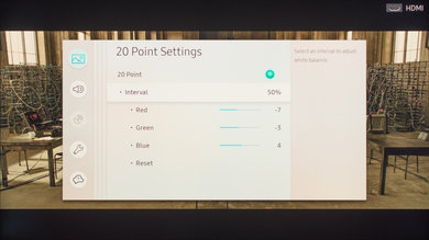 Samsung Q7F/Q7 QLED 2017 Calibration Settings 15