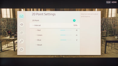 Samsung Q7F/Q7 QLED 2017 Calibration Settings 16