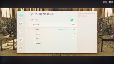 Samsung Q7F/Q7 QLED 2017 Calibration Settings 20
