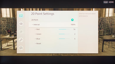 Samsung Q7F/Q7 QLED 2017 Calibration Settings 25