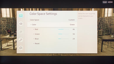 Samsung Q7F/Q7 QLED 2017 Calibration Settings 27