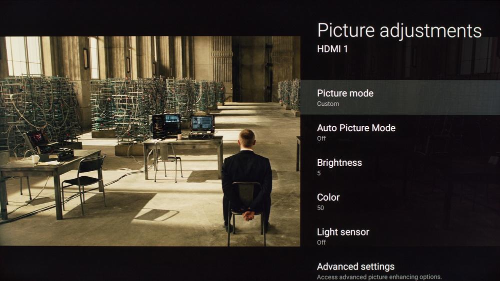 Sony X810C Calibration Settings 1