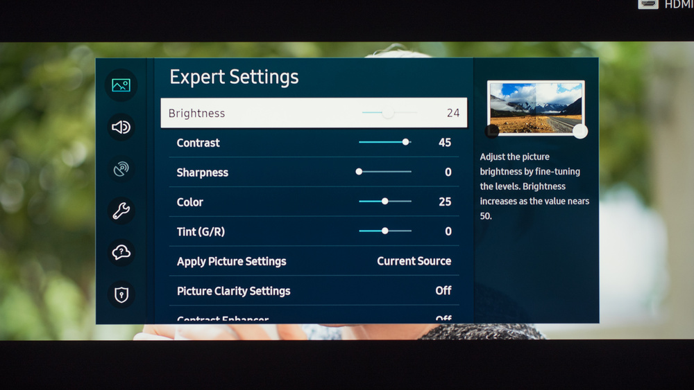 Samsung TU7000 Calibration Settings 13