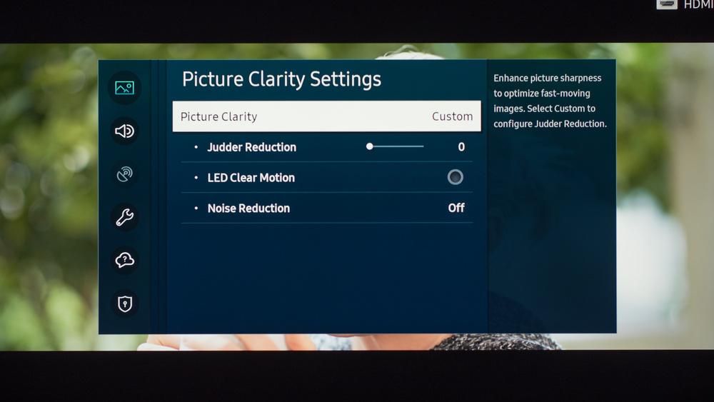 Samsung TU7000 Calibration Settings 16