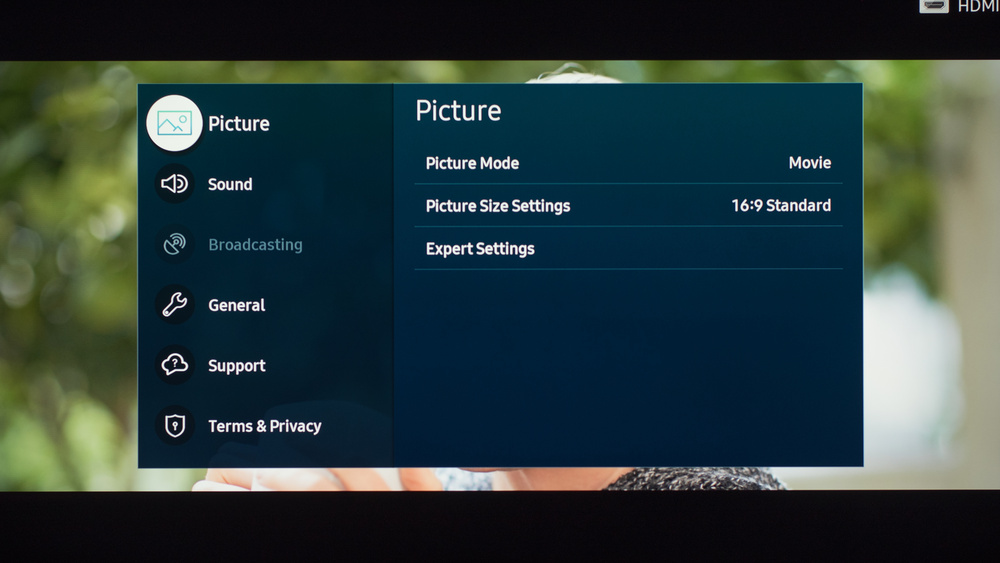 Samsung TU7000 Calibration Settings 7