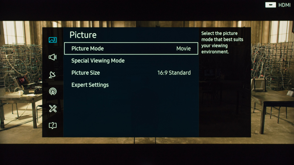 Samsung KS8000 Calibration Settings 1