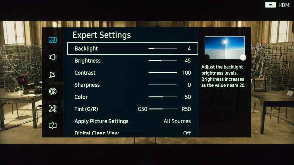 Samsung KS8000 Calibration Settings 2