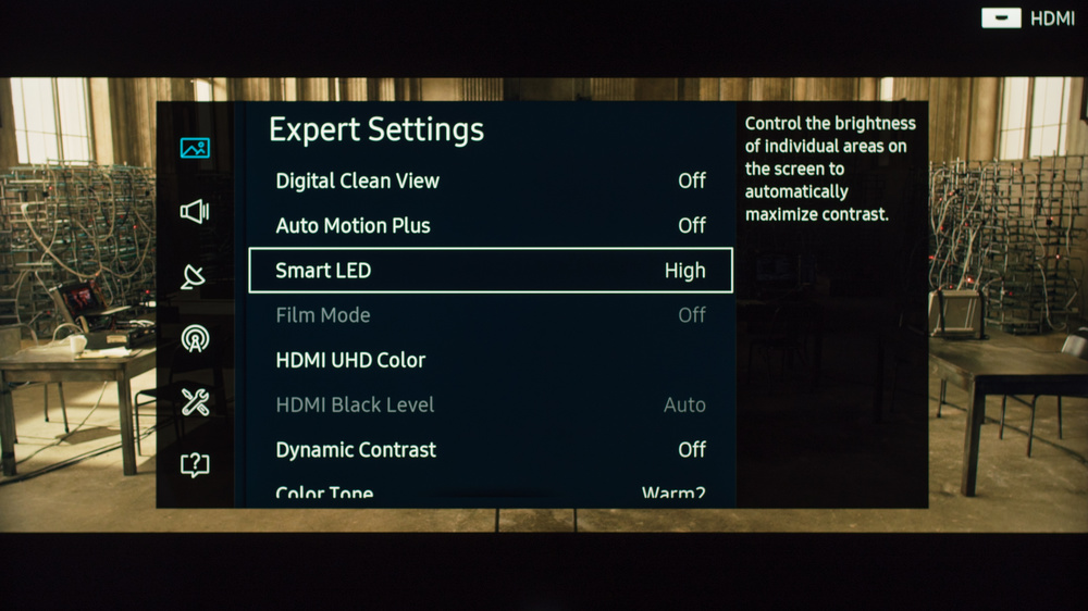 Samsung KS8000 Calibration Settings 4