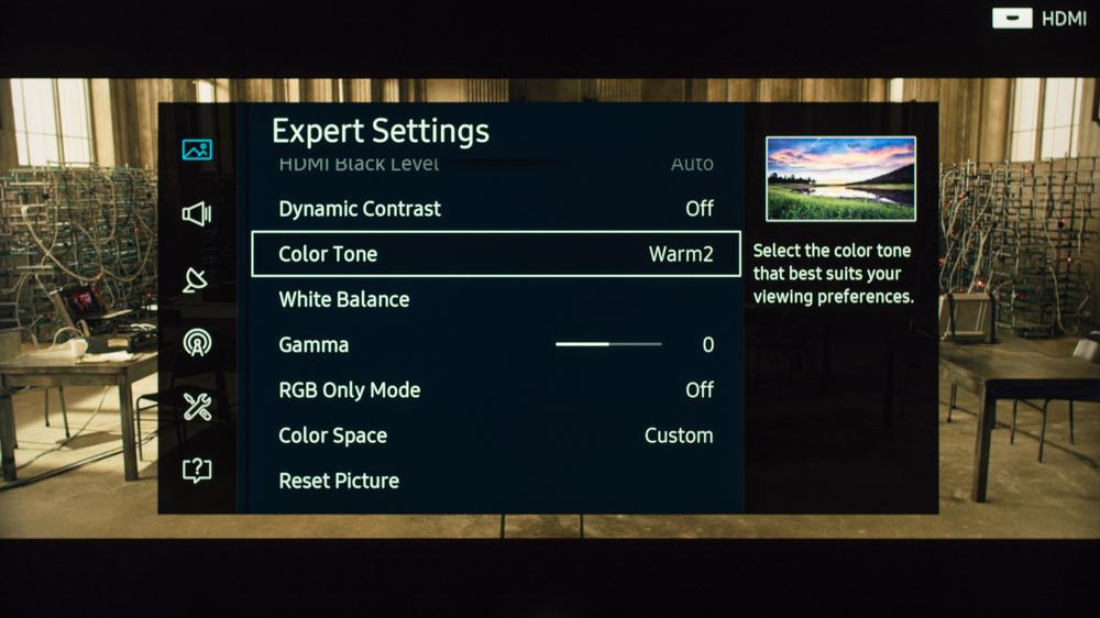 Samsung KS8000 Calibration Settings 5