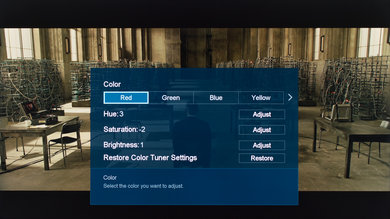 Sharp N7000U Calibration Settings 16