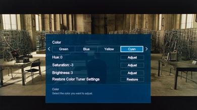 Sharp N7000U Calibration Settings 20