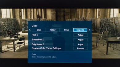 Sharp N7000U Calibration Settings 21