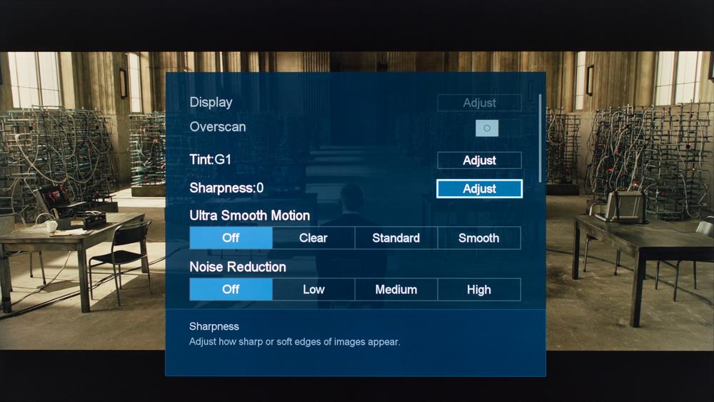 Sharp N7000U Calibration Settings 3