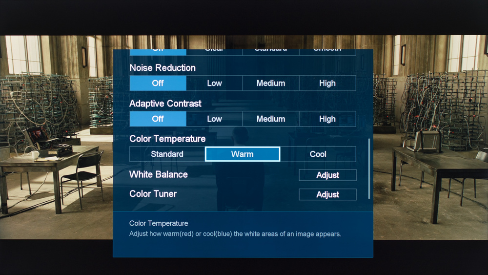 Sharp N7000U Calibration Settings 4