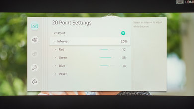 Samsung MU8500 Calibration Settings 20