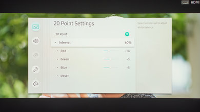 Samsung MU8500 Calibration Settings 28