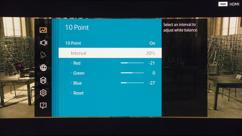 Samsung JS9000 Calibration Settings 12